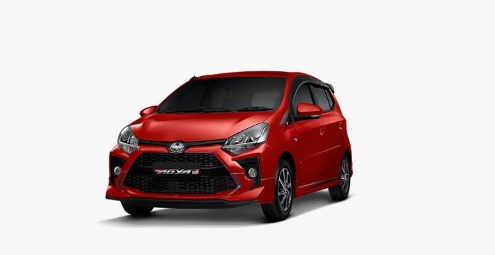 Toyota New Agya GR